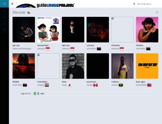 music.globalmusicproject.org screenshot