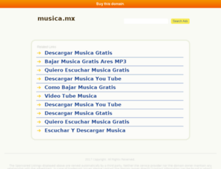musica.mx screenshot