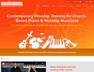 musicademy.co.uk screenshot