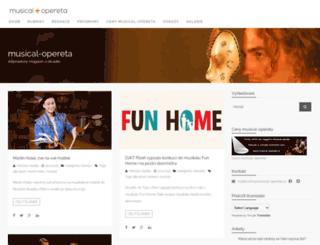 musical-opereta.cz screenshot