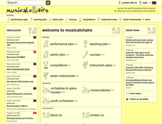 musicalchairs.info screenshot