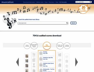 musicalion.com screenshot