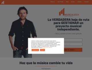 musicalizza.com screenshot