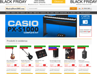 musicalstore.net screenshot