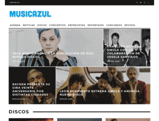 musicazul.com screenshot