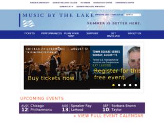 musicbythelake.com screenshot