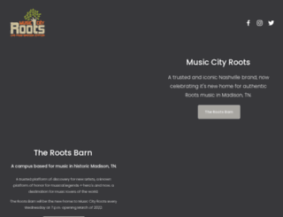 musiccityroots.com screenshot