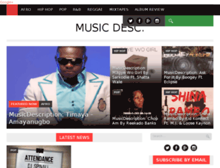 musicdesc.com screenshot