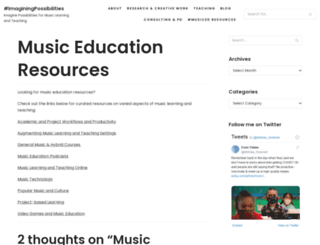 musiced.net screenshot