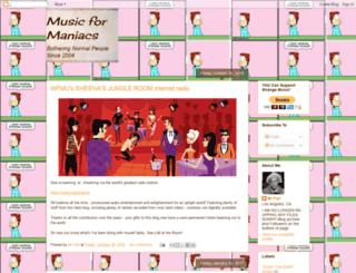 musicformaniacs.blogspot.com screenshot