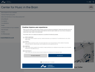 musicinthebrain.au.dk screenshot