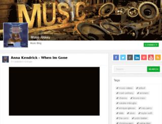 musicjockey.com screenshot