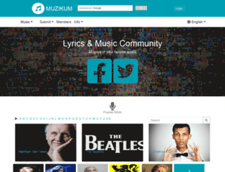musicloversgroup.com screenshot