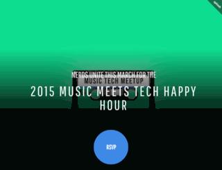 musicmeetstech.splashthat.com screenshot