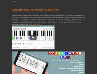 musicmotivated.com screenshot