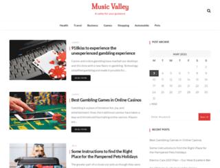 musicnapavalley.org screenshot