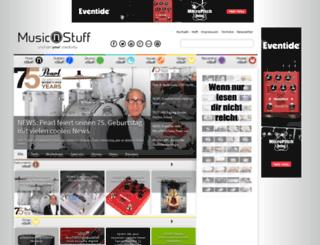 musicnstuff.de screenshot