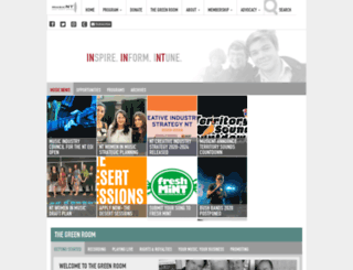 musicnt.com.au screenshot