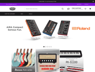 musicstorelive.com screenshot