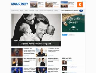 musictory.it screenshot