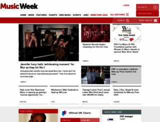 musicweek.com screenshot