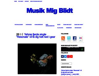 musikmigblidt.dk screenshot