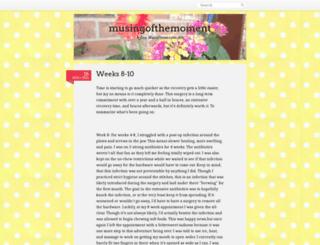 musingofthemoment.wordpress.com screenshot