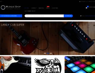 musique-shop.fr screenshot