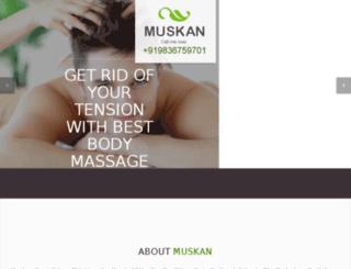 muskanspa.com screenshot