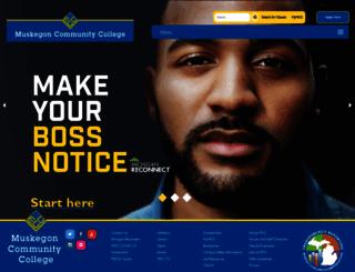 muskegoncc.edu screenshot