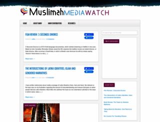 muslimahmediawatch.org screenshot
