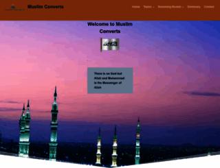 muslimconverts.com screenshot