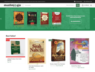 muslimjogja.com screenshot