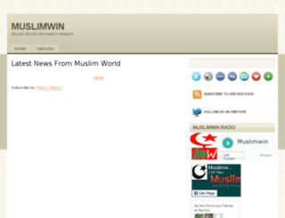 muslimwin.com screenshot