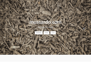 mussardo.com screenshot