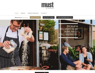 must.com.au screenshot
