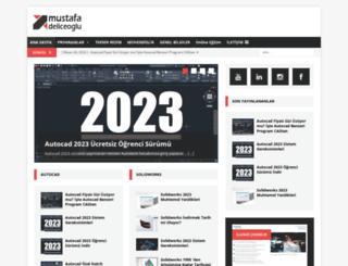 mustafadeliceoglu.com screenshot