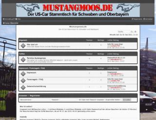 mustangmoos.info screenshot
