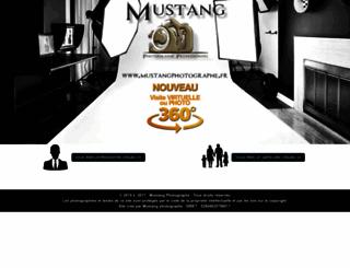 mustangphotographe.fr screenshot