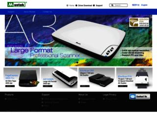 mustek.com screenshot