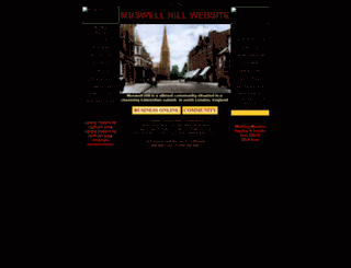 muswell-hill.com screenshot