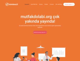 mutfakdolabi.org screenshot