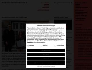 muthesius-kunsthochschule.de screenshot