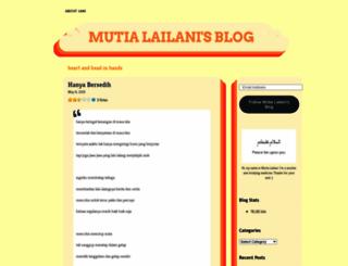 mutialailani.wordpress.com screenshot
