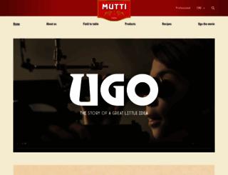mutti-parma.com screenshot