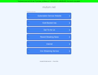 mutum.net screenshot
