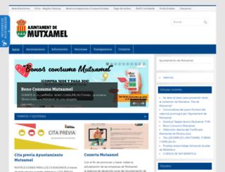 mutxamel.org screenshot