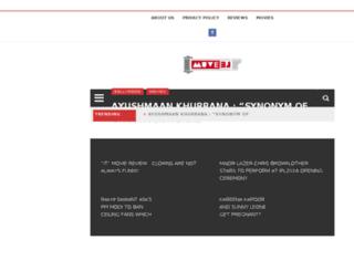 muveej.com screenshot
