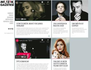 muzikgazetesi.com screenshot