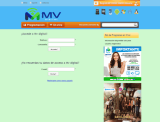 mvdigital.net screenshot